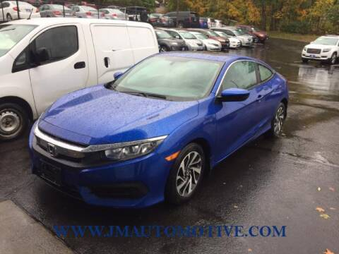 2016 Honda Civic for sale at J & M Automotive in Naugatuck CT