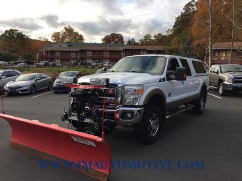 2012 Ford F-250 Super Duty for sale at J & M Automotive in Naugatuck CT