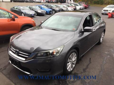 2013 Honda Accord for sale at J & M Automotive in Naugatuck CT