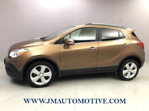 2016 Buick Encore for sale at J & M Automotive in Naugatuck CT