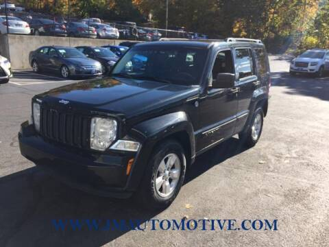 2012 Jeep Liberty for sale at J & M Automotive in Naugatuck CT