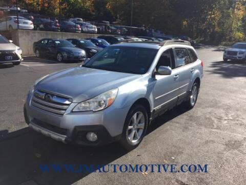 2013 Subaru Outback for sale at J & M Automotive in Naugatuck CT