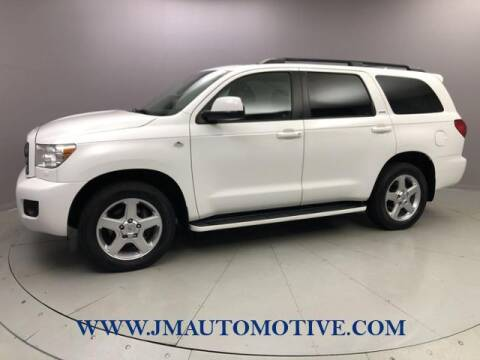 2010 Toyota Sequoia for sale at J & M Automotive in Naugatuck CT