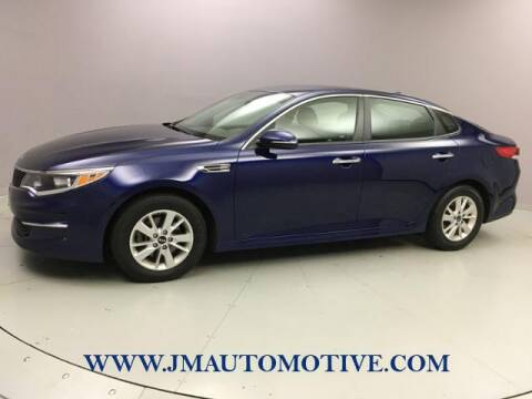 2018 Kia Optima for sale at J & M Automotive in Naugatuck CT