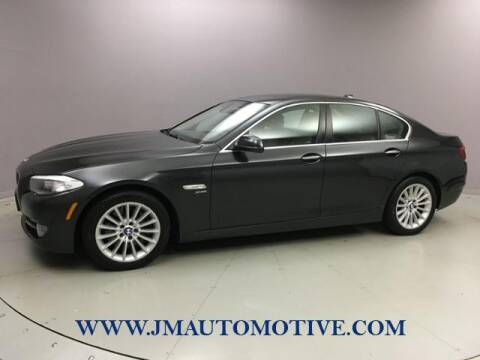 2011 BMW 5 Series for sale at J & M Automotive in Naugatuck CT