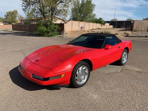 1995 Chevrolet Corvette for sale at Top Gun Auto Sales in Albuquerque NM