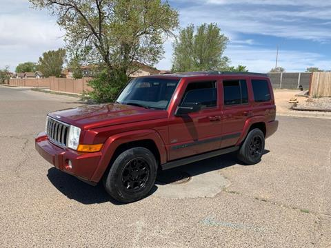 2007 Jeep Commander for sale at Top Gun Auto Sales in Albuquerque NM