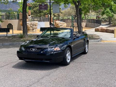 2004 Ford Mustang for sale at Top Gun Auto Sales in Albuquerque NM