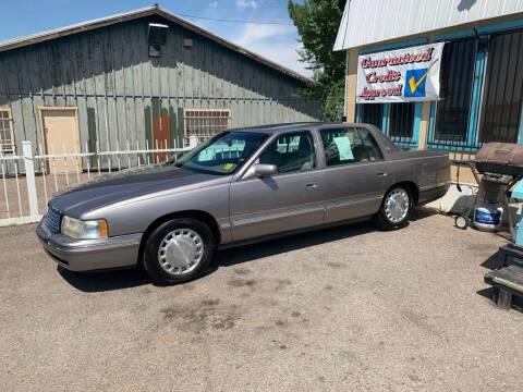 1998 Cadillac DeVille for sale at Top Gun Auto Sales, LLC in Albuquerque NM