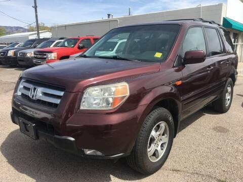 2008 Honda Pilot for sale at Top Gun Auto Sales, LLC in Albuquerque NM