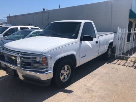 1996 Chevrolet C/K 1500 Series for sale at Top Gun Auto Sales, LLC in Albuquerque NM