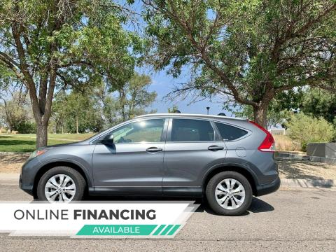 2012 Honda CR-V for sale at Top Gun Auto Sales, LLC in Albuquerque NM