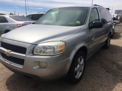 2005 Chevrolet Uplander for sale at Top Gun Auto Sales, LLC in Albuquerque NM