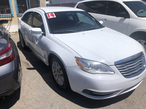 2014 Chrysler 200 for sale at Top Gun Auto Sales, LLC in Albuquerque NM