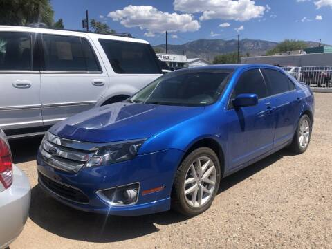2012 Ford Fusion for sale at Top Gun Auto Sales, LLC in Albuquerque NM