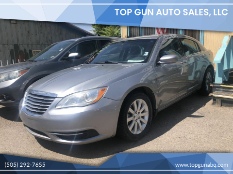 2013 Chrysler 200 for sale at Top Gun Auto Sales, LLC in Albuquerque NM