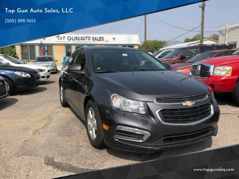 2015 Chevrolet Cruze for sale at Top Gun Auto Sales, LLC in Albuquerque NM