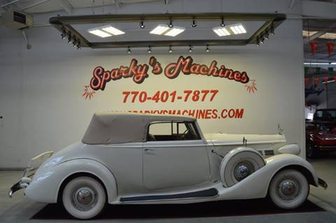 1937 Packard Caribbean for sale in Loganville, GA
