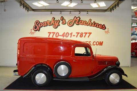 1937 Ford Panel Truck for sale in Loganville, GA