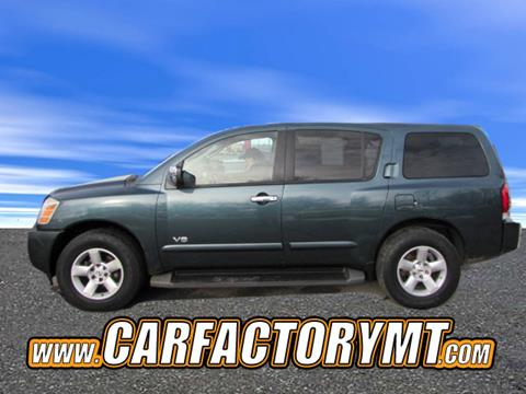 nissan armada for sale in montana. Black Bedroom Furniture Sets. Home Design Ideas