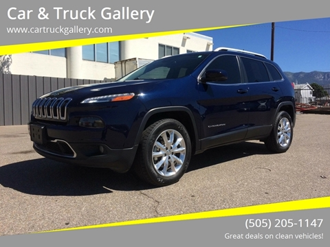 2016 Jeep Cherokee for sale in Albuquerque, NM