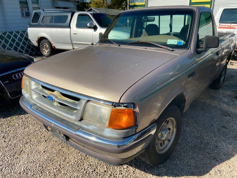 1997 Ford Ranger for sale at GREENLIGHT AUTO SALES in Akron OH