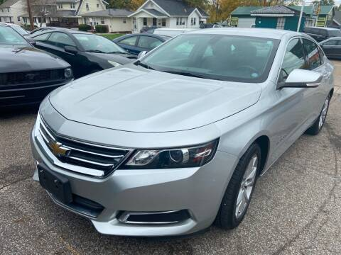 2017 Chevrolet Impala for sale at GREENLIGHT AUTO SALES in Akron OH