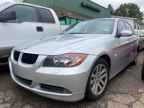 2007 BMW 3 Series for sale at GREENLIGHT AUTO SALES in Akron OH