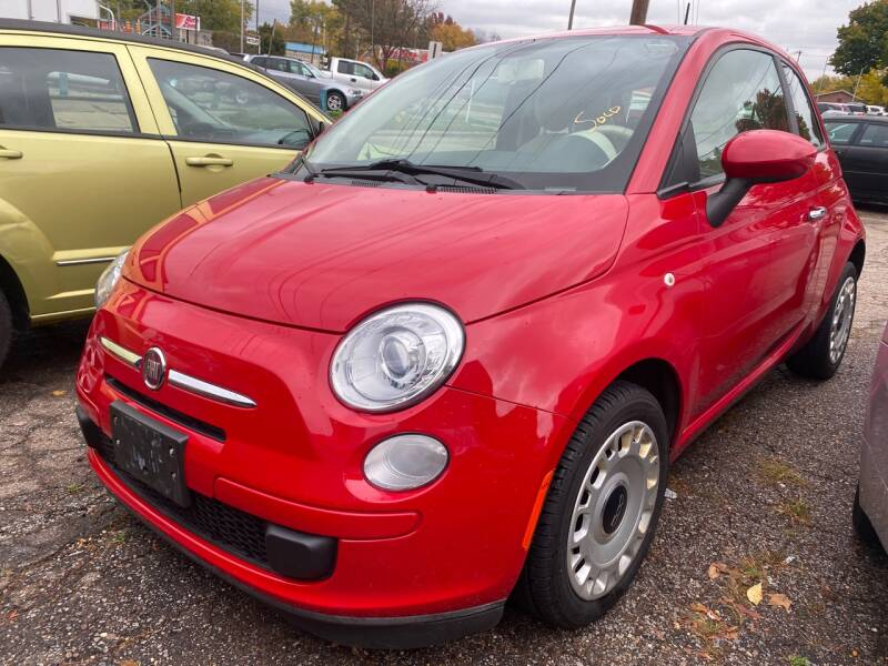 2013 FIAT 500 for sale at GREENLIGHT AUTO SALES in Akron OH