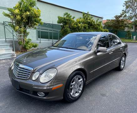 2008 Mercedes-Benz E-Class for sale at Meru Motors in Hollywood FL