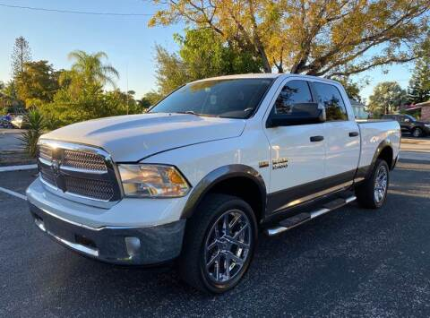 2013 RAM Ram Pickup 1500 for sale at Meru Motors in Hollywood FL