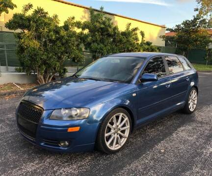2008 Audi A3 for sale at Meru Motors in Hollywood FL