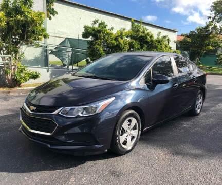 2016 Chevrolet Cruze for sale at Meru Motors in Hollywood FL