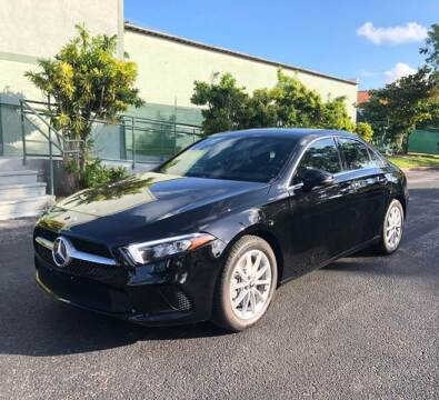 2019 Mercedes-Benz A-Class for sale at Meru Motors in Hollywood FL