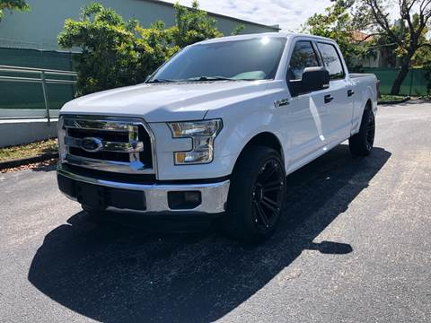 2015 Ford F-150 for sale at Meru Motors in Hollywood FL