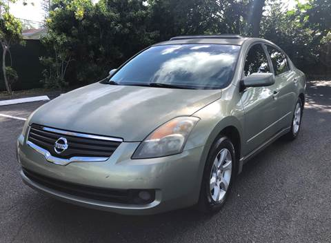 2008 Nissan Altima for sale at Meru Motors in Hollywood FL