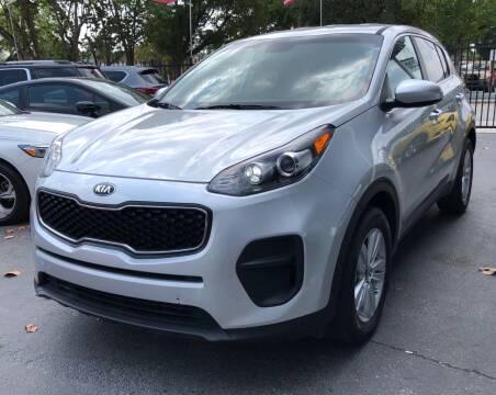 2018 Kia Sportage for sale at Meru Motors in Hollywood FL