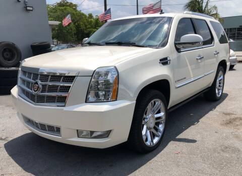 2008 Cadillac Escalade for sale at Meru Motors in Hollywood FL