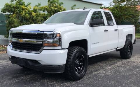 2016 Chevrolet Silverado 1500 for sale at Meru Motors in Hollywood FL