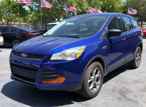2016 Ford Escape for sale at Meru Motors in Hollywood FL