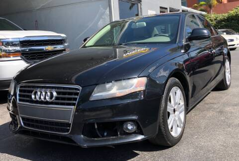 2009 Audi A4 for sale at Meru Motors in Hollywood FL