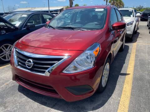 2018 Nissan Versa for sale at Meru Motors in Hollywood FL