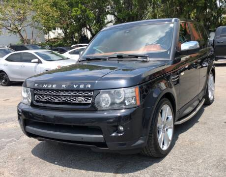 2012 Land Rover Range Rover Sport for sale at Meru Motors in Hollywood FL