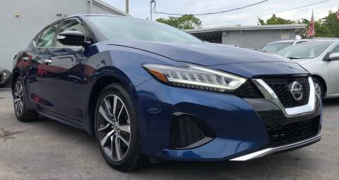 2020 Nissan Maxima for sale at Meru Motors in Hollywood FL