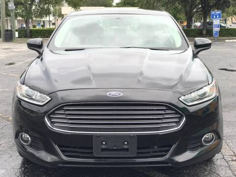 2017 Ford Fusion for sale at Meru Motors in Hollywood FL