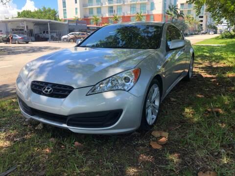 2011 Hyundai Genesis Coupe for sale at Meru Motors in Hollywood FL