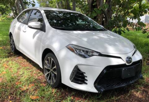 2017 Toyota Corolla for sale at Meru Motors in Hollywood FL