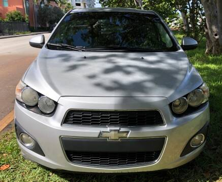 2012 Chevrolet Sonic for sale at Meru Motors in Hollywood FL