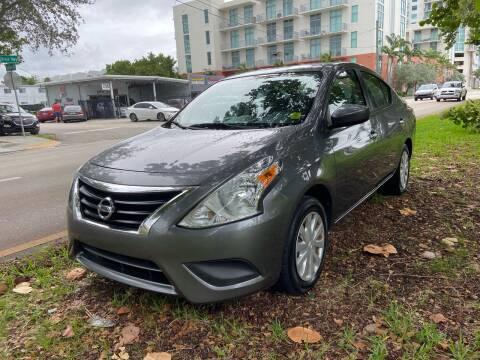 2016 Nissan Versa for sale at Meru Motors in Hollywood FL