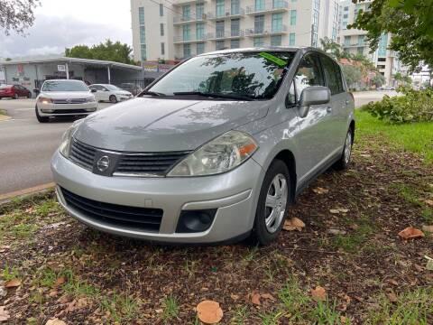 2009 Nissan Versa for sale at Meru Motors in Hollywood FL